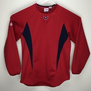 Washington Capitals NHL hockey Majestic sweatshirt